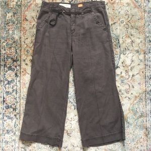Pilcro Anthropologie pants brown size 27
